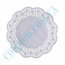Round openwork paper napkins Ǿ=19cm 100 pieces