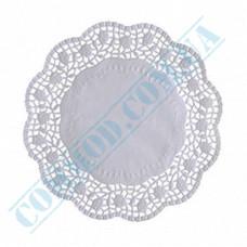 Round openwork paper napkins Ǿ=22cm 100 pieces