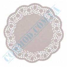 Round openwork paper napkins Ǿ=24cm 100 pieces