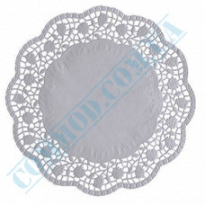 Round openwork paper napkins Ǿ=27cm 100 pieces