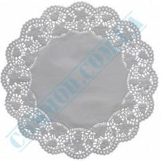 Round openwork paper napkins Ǿ=34cm 100 pieces