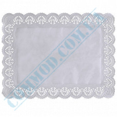 Paper napkins openwork rectangular 35*45cm 100 pieces