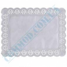 Paper napkins openwork rectangular 36*46cm 100 pieces