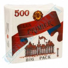 Paper bar napkins 24*25cm single-layer white 500 pieces Premier Lux