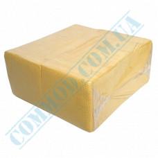 Paper bar napkins 24*24cm single-layer yellow 500 pieces