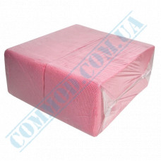 Paper bar napkins 24*24cm single-layer pink 500 pieces per pack