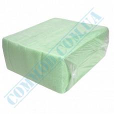 Paper bar napkins 24*24cm single-layer light green 500 pieces per pack