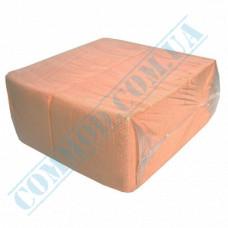 Paper bar napkins 24*24cm single-layer orange 500 pieces