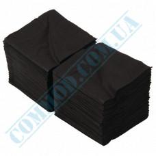 Paper bar napkins 24*24cm single-layer black 300 pieces