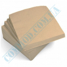 Paper bar napkins 24*24cm single-layer kraft 400 pieces