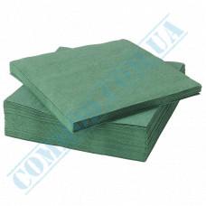 Paper napkins 33*33cm 2-ply green 200 pieces