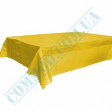 Tablecloth 120*150cm Yellow polyethylene