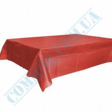 Polyethylene tablecloth | 120*150cm | Red
