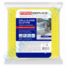 Moisture-absorbent cellulose colored napkins 16*16cm 10 pieces per pack PRO Service