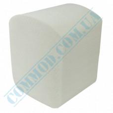 Toilet paper sheets 110*230mm white 2-ply 200 pieces per pack (Ukraine)