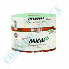Toilet paper 65m green single-layer 9 rolls per pack Mildi Maxi Premium