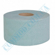 Toilet paper Jumbo single-layer green 120m (outer diameter Ǿ=190mm, number of tear-off sheets - 1000 pieces)