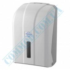 Dispenser for sheet toilet paper V-stacking plastic article K.6-Z (Turkey)
