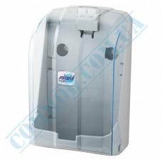 Dispenser for sheet toilet paper V-stacking plastic article K.6-Z-T (Turkey)