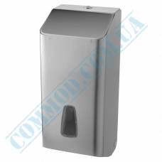 Dispenser for sheet V-stacking toilet paper metal article 803inox-Sat (Italy)
