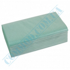 Single-layer paper towels 25*23cm green V-stacking 160 sheets