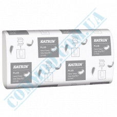 2-ply sheet paper towels 25,5*23,5cm white W-stacking 145 sheets Katrin (Finland) article 345201