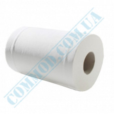 Single-layer paper towel in a roll 120m Ǿ=165mm h=200mm with central hood White