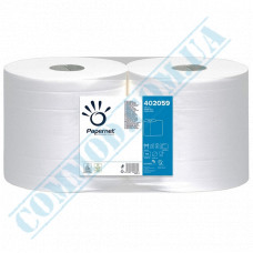 Paper towel in a roll 232m Ǿ=270mm h=256mm 2-ply industrial wiping White Papernet (Germany) article 402059