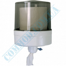 Dispenser for rolled paper towels with internal unwinding plastic article 519 (Italy)