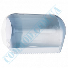 Dispenser combined for rolled and sheet paper towels, plastic article 666 (Italy)