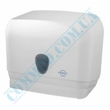 Dispenser combined for rolled and sheet V-stacking of paper towels, plastic article 601 (Italy)