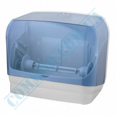 Dispenser combined for rolled and sheet V-stacking of paper towels, plastic article 602 (Italy)
