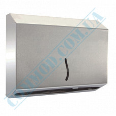 Dispenser for sheet paper towels Z-laying metal article 3802 (Turkey)