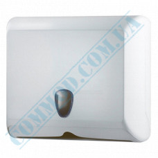 Dispenser for sheet paper towels Z-laying plastic article 838 (Italy)