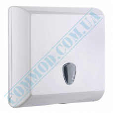 Dispenser for sheet paper towels Z, V-stacking plastic article 708 (Italy)