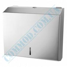 Dispenser for sheet paper towels Z, V-stacking metal article TD-8314C (China)