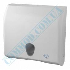 Dispenser for sheet paper towels Z, V-stacking plastic article 695 (Italy)