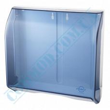 Dispenser for sheet paper towels Z, V-stacking plastic article 696 (Italy)