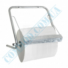 Metal wall holder for rolled industrial paper towels Fratelli (Italy) article FRA-50902