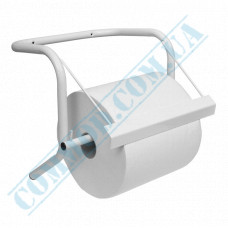 Holder for rolled industrial paper towels metal wall-mounted Mar Plast (Italy) article 522