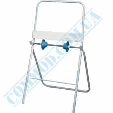 Holder for rolled industrial paper towels metal floor Mar Plast (Italy) article 521
