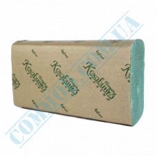 1-ply sheet paper towels 23*22cm green Z-stacking 200 sheets
