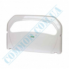 Dispenser for hygienic covers for the toilet bowl 1/2-addition plastic article K7 Vialli (Italy)