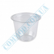 Plastic transparent dessert cups Cone 150ml Ǿ=76mm h=66mm without lid 100 pieces