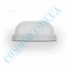 Plastic transparent dome lids Ǿ=87mm without hole 50 pieces
