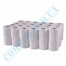 Toilet paper 15m White 2-ply 48 rolls per pack PRO Service