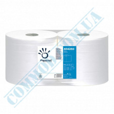 Paper towel in a roll 190,80m Ǿ=250mm h=257mm 2-ply industrial wiping White Papernet (Germany) article 404260