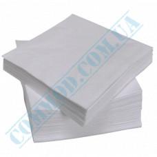 Paper napkins 33*33cm single-layer white 100 pieces per pack
