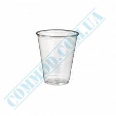 Plastic PP cups   100ml   transparent   100 pieces per pack