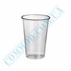Plastic PP cups   180ml   transparent   100 pieces per pack